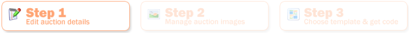 Simple Process for Our Auction Templates