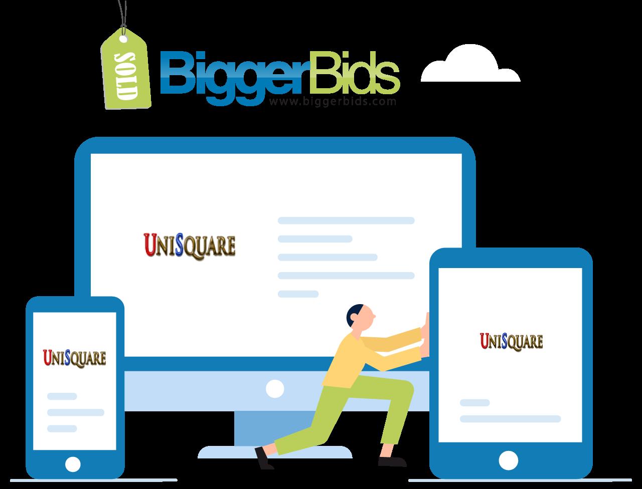 biggerbids UniSquare Templates